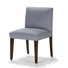 Low back parsons dining chair low back contemporary for Low back parsons dining chair